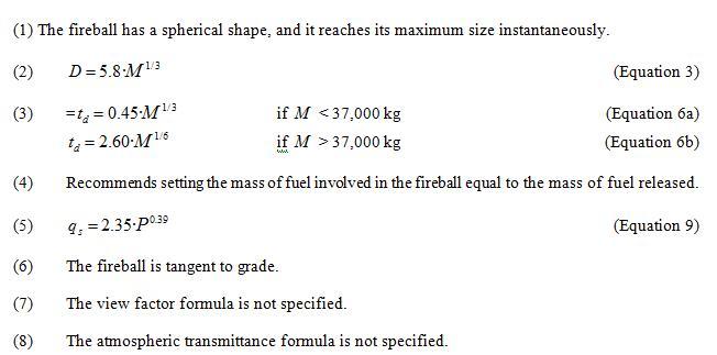 equation summary